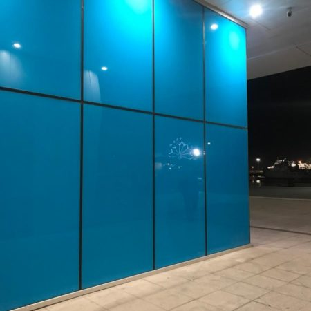 cristales azules